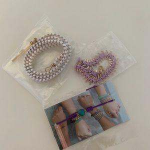 Set Of 3 Fun Bracelets As Shown Brand New